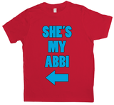 She's my Abbi