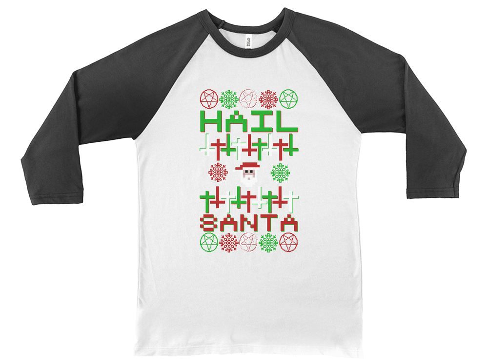 Hail Santa Ugly Sweater
