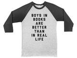 Boys in Books are Better Than In Real Life