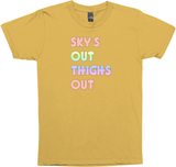 sky's out thighs out tank top blk