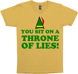 YOU SIT ON A THRONE OF LIES ELF CHRISTMAS MOVIE GR/B