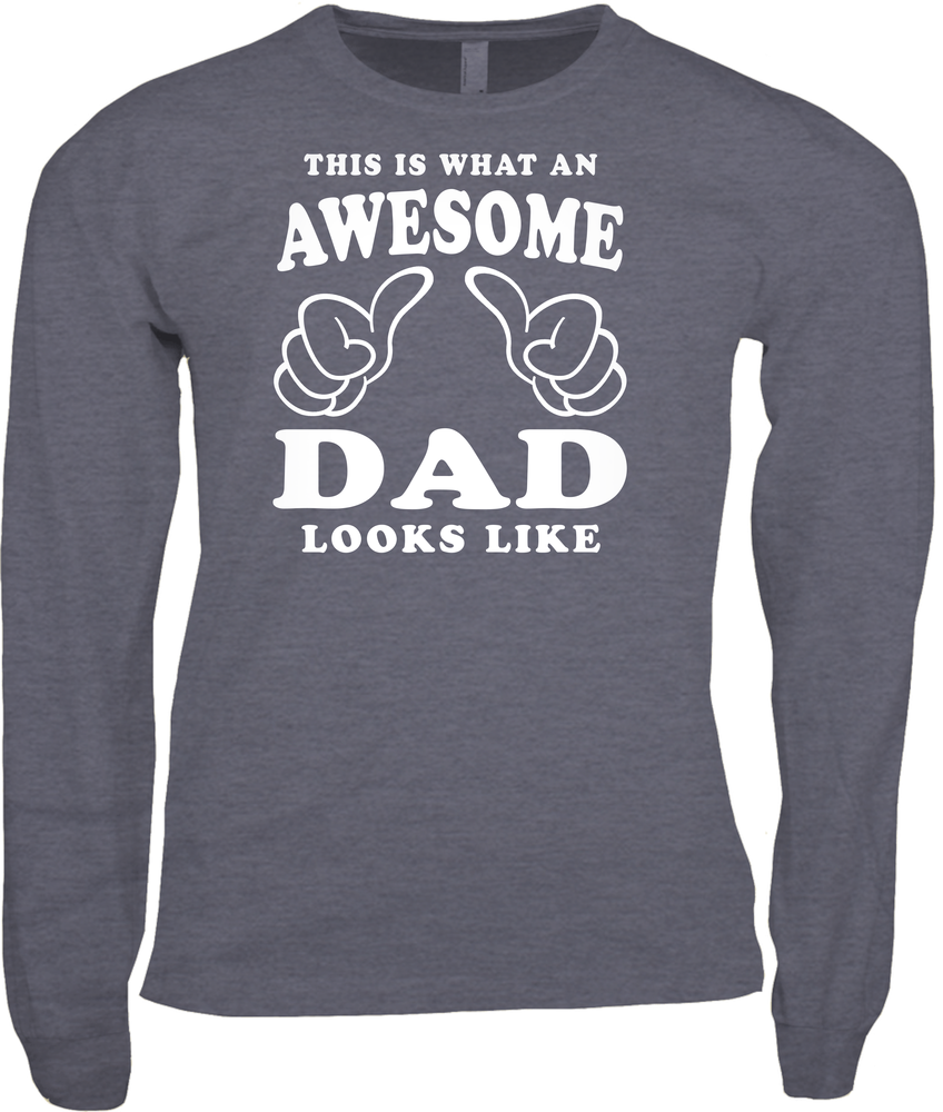 awesome dad camo shirt