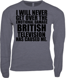 I WILL NEVER GET OVER THE EMOTIONAL DAMAGE BRITISH TELEVISION HAS CAUSED ME VNECK