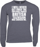 I WILL NEVER GET OVER THE EMOTIONAL DAMAGE BRITISH TELEVISION HAS CAUSED ME BLK/WHT