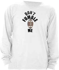 DON'T FUMBLE ME FOOTBALL BABY one-piece
