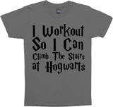 i workout so i can climb the stairs at wizard school