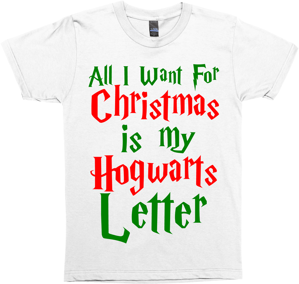 all i want for christmas is my wizard school letter