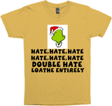 HATE LOATHE GRINCH,CHRISTMAS