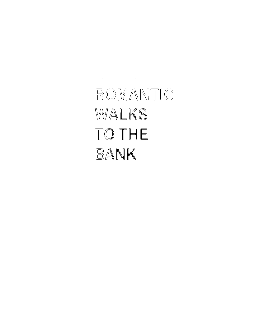 I Like Long Romantic Walks To The Bank