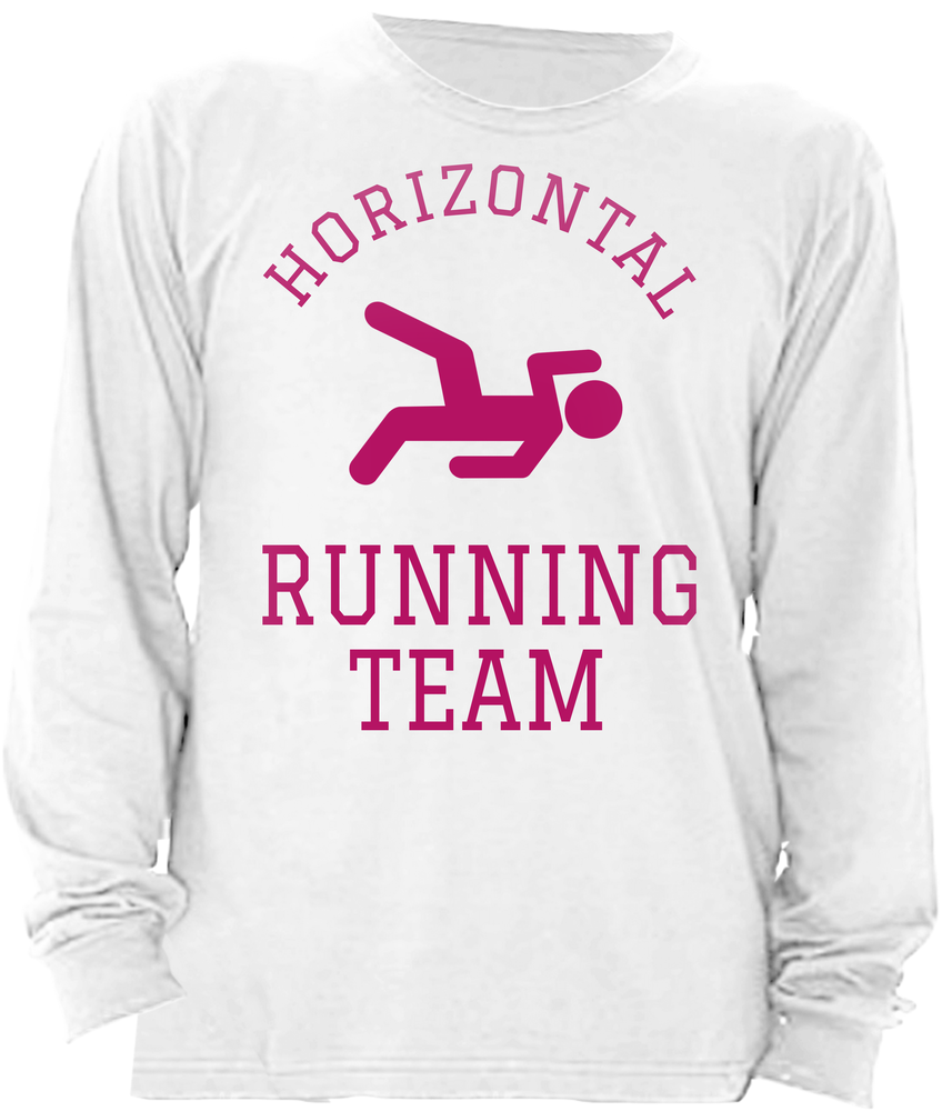 Horizontal Running Team Pink