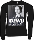 IDFWU Wednesday Addams