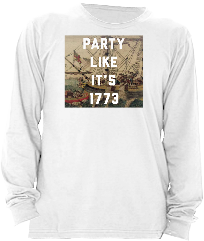 Boston Tea Party Like It's 1773