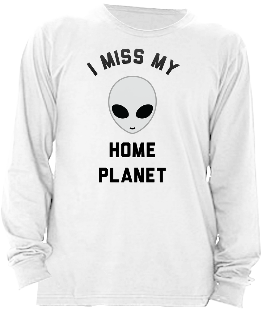 I Miss My Home Planet