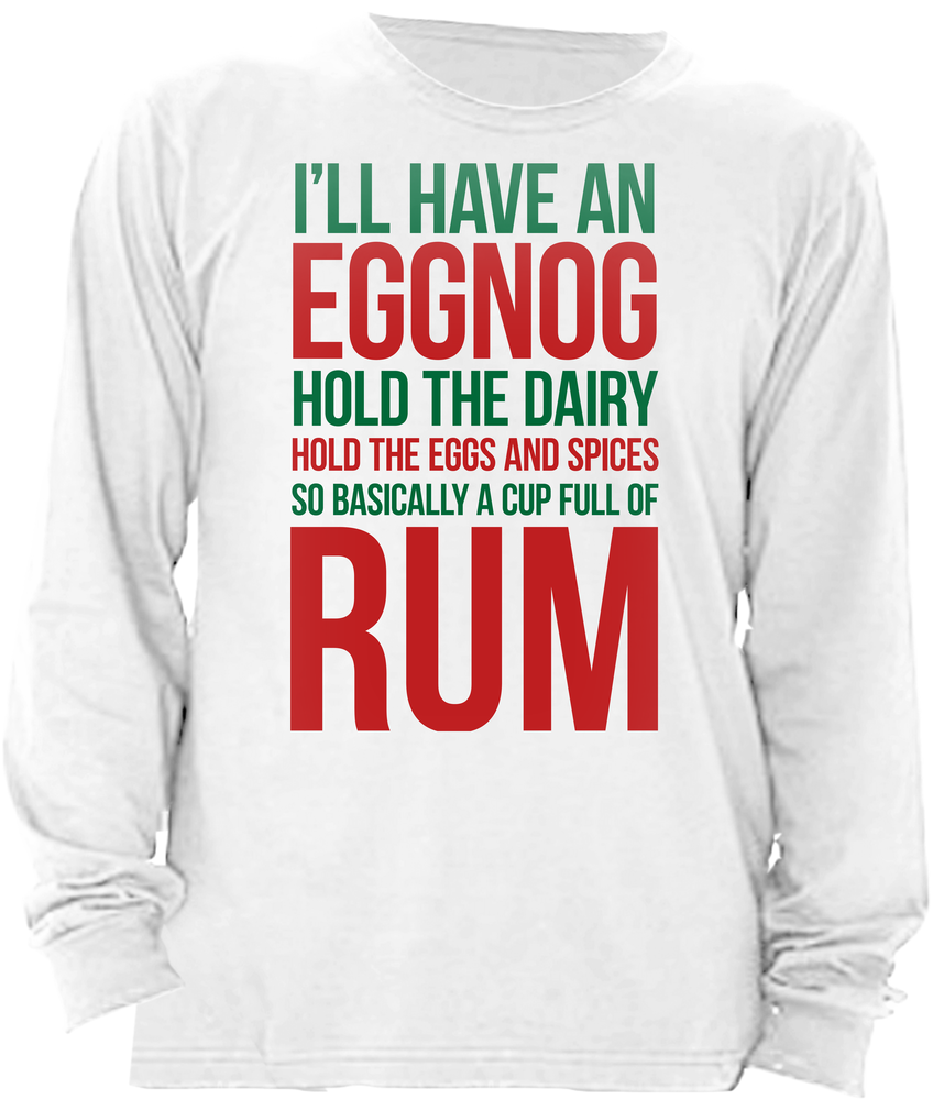 I'll Have An Eggnog, But If You Could Please Hold the Eggs and the Spices and the Milk and Stuff, So