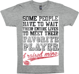 My Favorite Football Player - Football Mom Shirt
