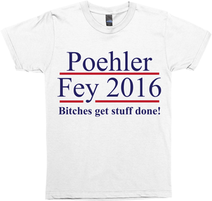 Poehler Fey 2016 Election
