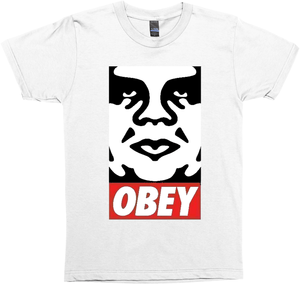 Original  Obey  Black Tee