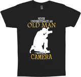 Never Underestimate Old Man With Camera