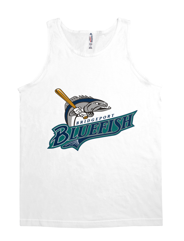 bridgeport bluefish baseball logos