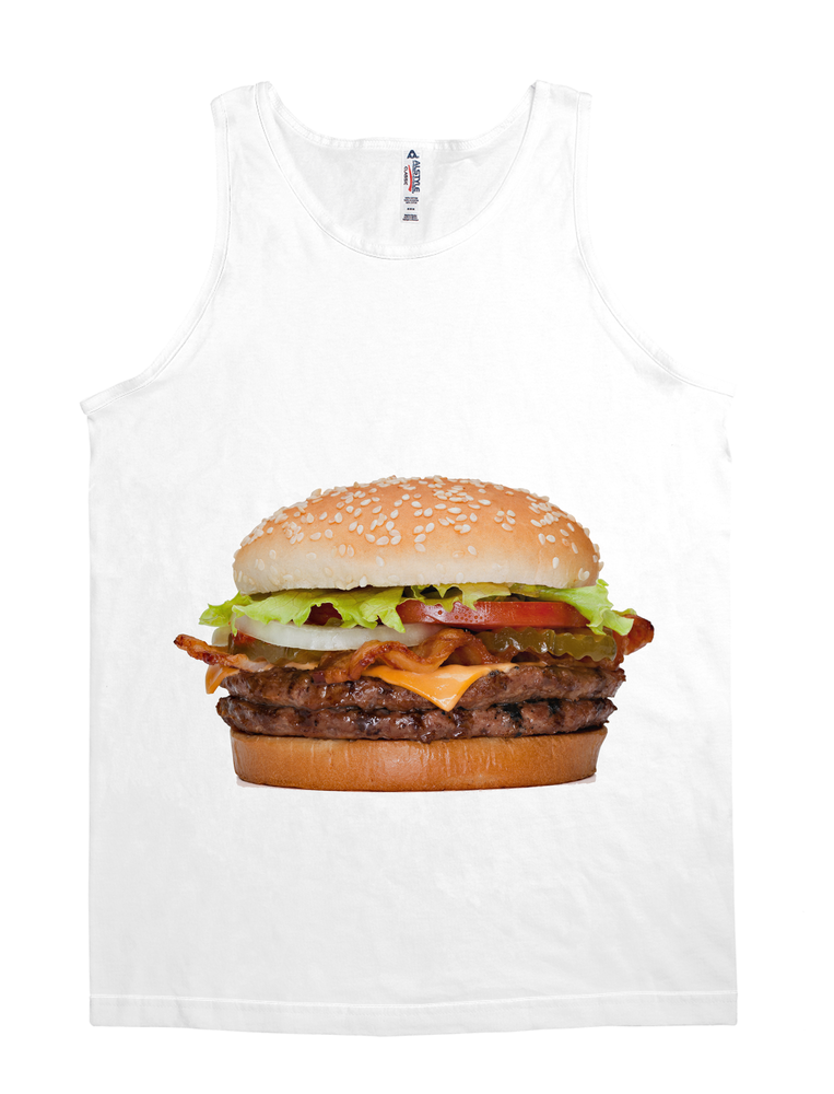 Hamburger V-Neck Shirt