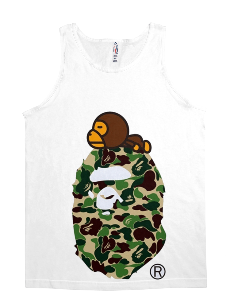 BAPE Exclusive Monk Tee White(LIMITED)