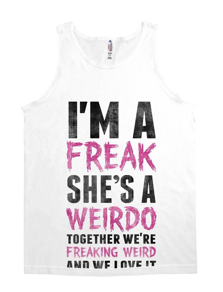 Best Friend Shirt - I'm a Freak She's a Weirdo