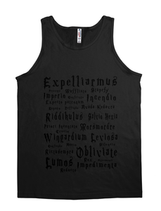 Wizards Magic Spells Tank Top-JH
