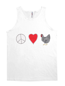 Peace, Love and Chickens