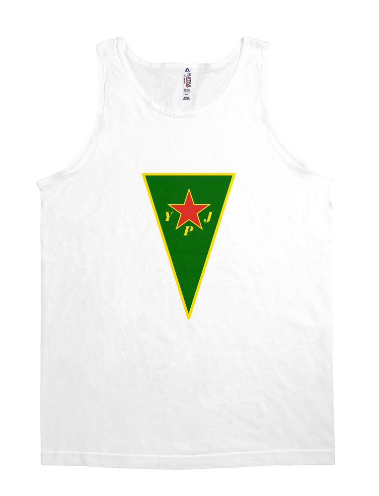 Back-and-front YPG & YPJ Flag shirt