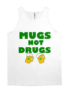 MUGS NOT DRUGS ST PATRICK'S DAY BEER TEE