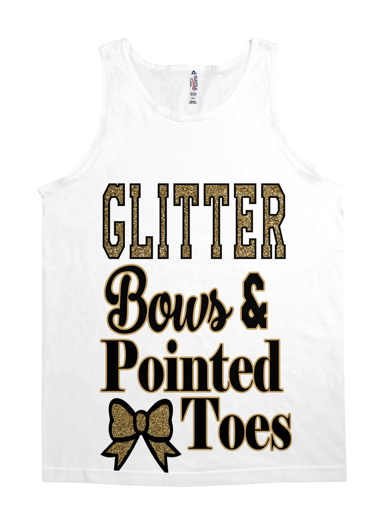 Glitter, Bows & Pointed Toes