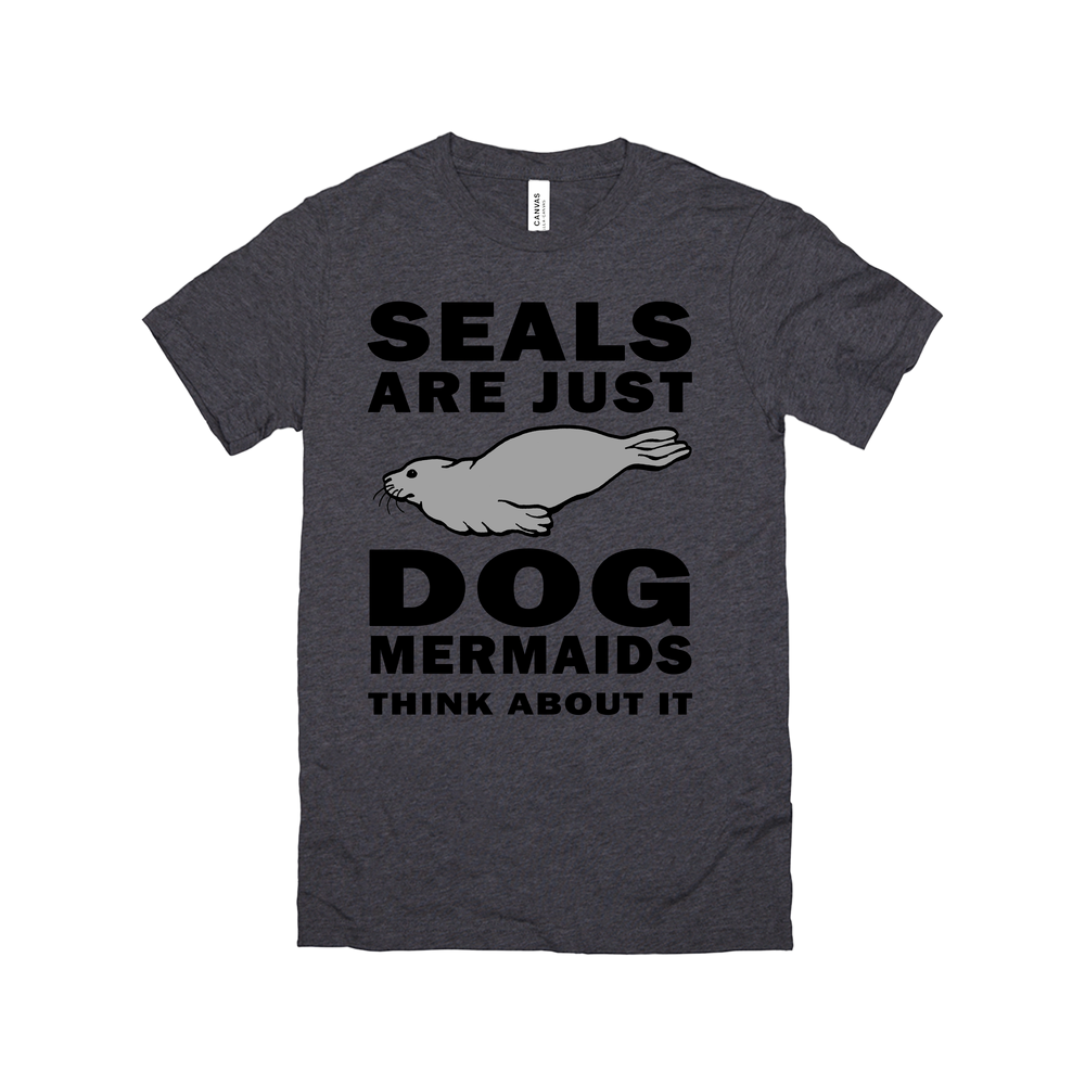 seals are just dog mermaids think about it-tank top