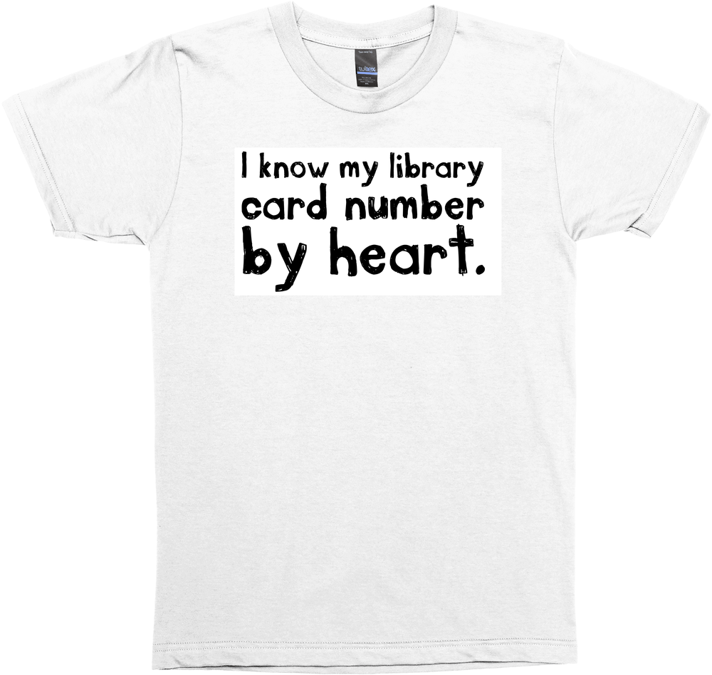 Library Card (Without Makeouts)