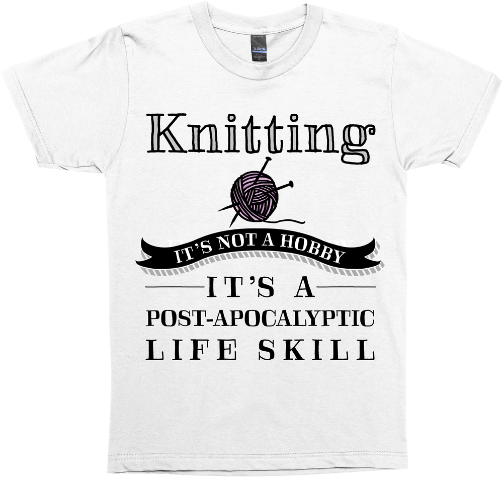 Knitting: It's Not A Hobby, It's a Post-Apocalyptic Life Skill