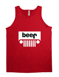 beer jeep - funny t shirt