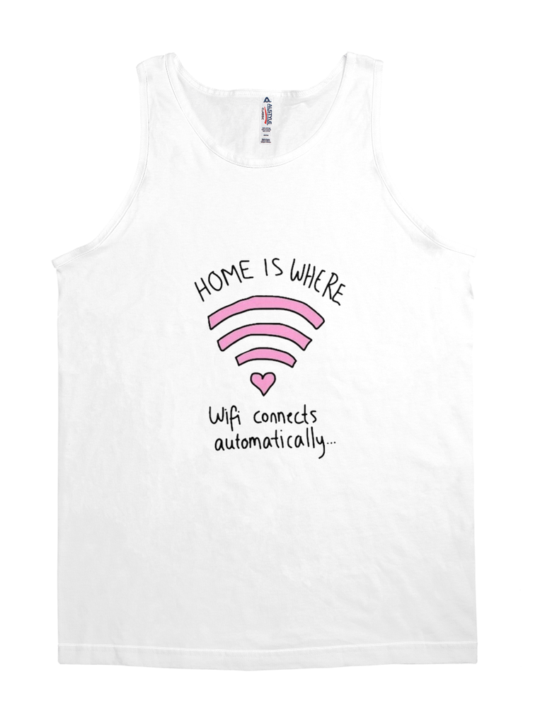 home is where wifi connects