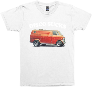 Disco Sucks Vintage 70's Van (distressed look)