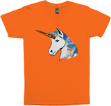 holographic glitter rainbow unicorn tee shirt top t-shirt