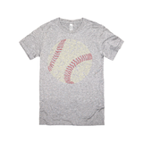 Baseball Slang Words Typographic T-Shirt