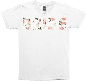 Floral Bride (Wedding Party Group Shirts)
