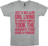 Just a Wizard Girl, Living In a Muggle World