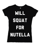 Squat For Nutella
