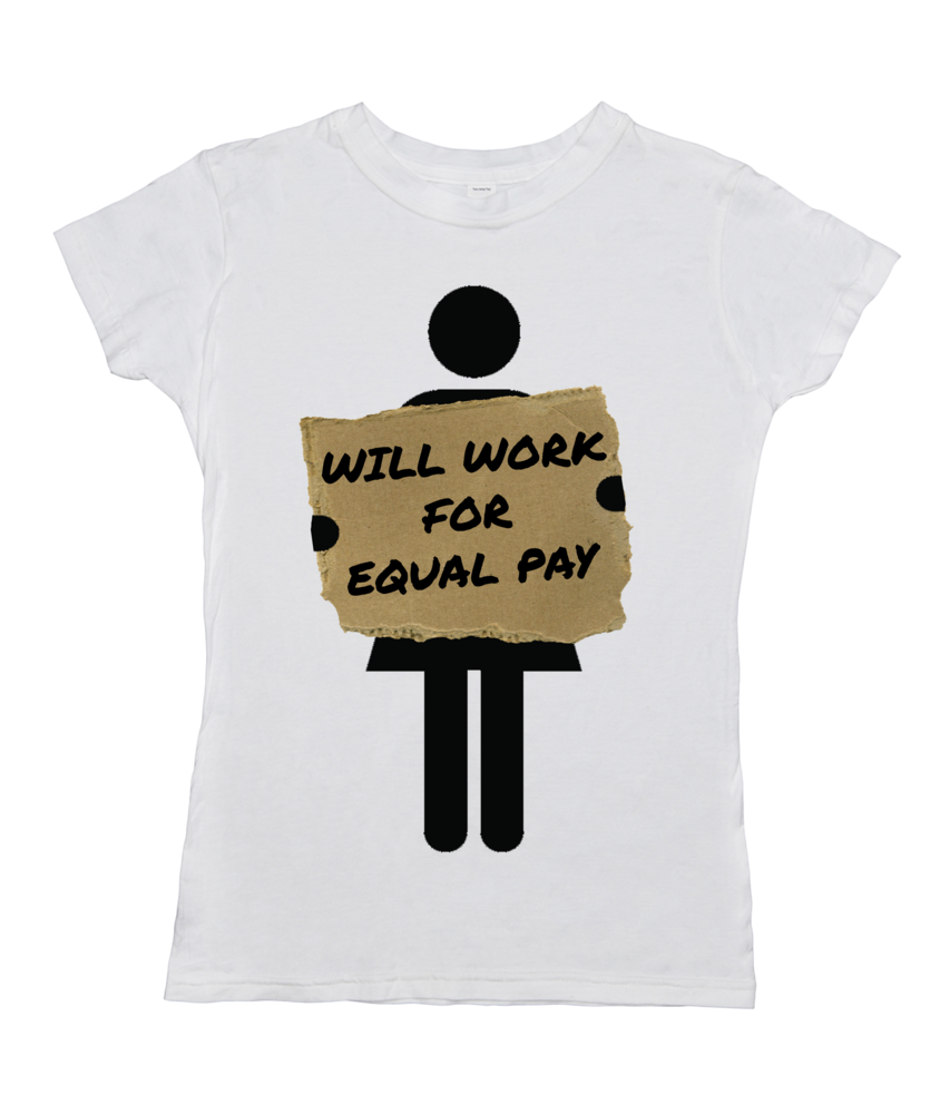Women: Will Work For Equal Pay