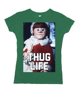Kris Kringle of Santa Claus is Coming To Town - Thug Life