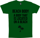 Beach Body: A Body That Is Located On A Beach