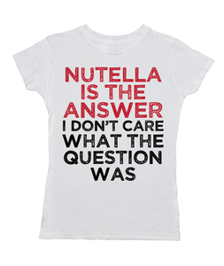 Nutella Is The Answer