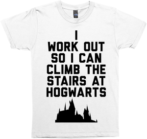I Workout So I Can Climb the Stairs at Hogwarts