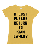 If Lost Please Return to Kian Lawley