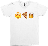 Emoji Loves Pizza And Beer