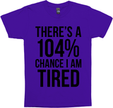 There's A 104% Chance I Am Tired